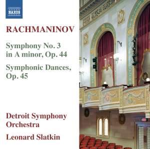 Rachmaninov: Symphony No. 3 & Symphonic Dances Product Image