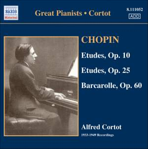 Great Pianists - Cortot Product Image