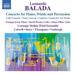 Leonardo Balada: Concerto for Piano, Wind and Percussion