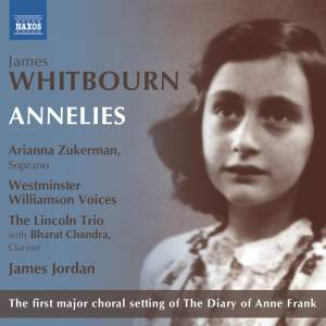 Whitbourn: Annelies (Chamber Version) Product Image