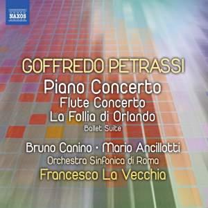 Petrassi: Piano Concerto & Flute Concerto Product Image