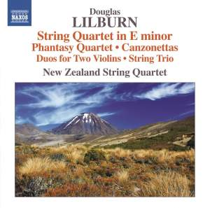 Lilburn: String Quartet in E Minor, Phantasy Quartet & Canzonettas Product Image