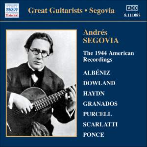 Great Guitarists - Segovia