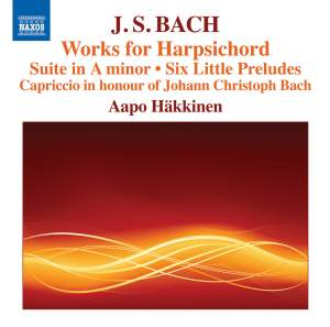 JS Bach: Works for Harpsichord