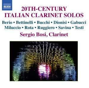 20th-Century Italian Clarinet Solos Product Image