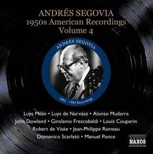 Segovia - 1950s American Recordings Volume 4 Product Image