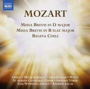 Mozart: Missa brevis in D major & Missa brevis in Bb major Product Image