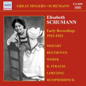 Great Singers - Elisabeth Schumann Product Image