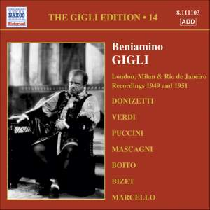The Gigli Edition 14 Product Image