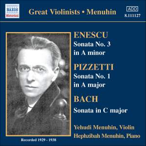 Great Violinists - Menuhin