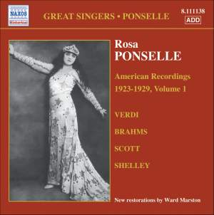 Great Singers - Rosa Ponselle Product Image