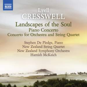 Cresswell: Landscapes of the Soul & Piano Concerto