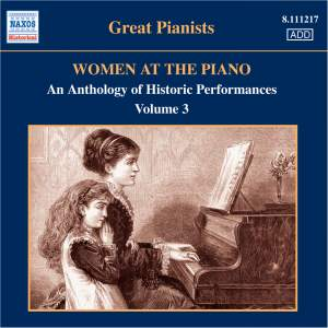 Great Pianists - Women at the Piano Volume 3 Product Image