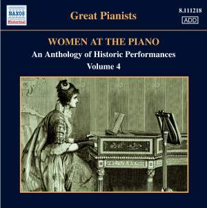 Great Pianists - Women at the Piano Volume 4 Product Image