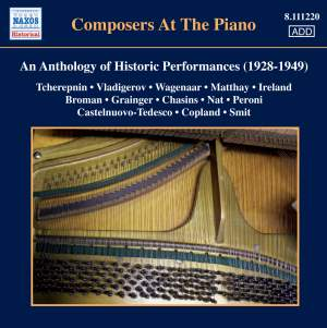 Composers at the Piano - An Anthology of Historic Performances (1928-1949)