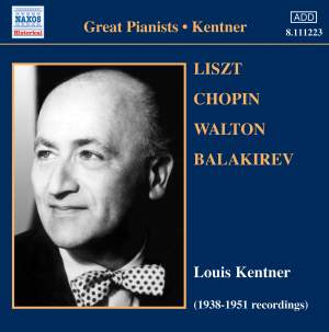 Great Pianists - Louis Kentner (1905-1987) Product Image