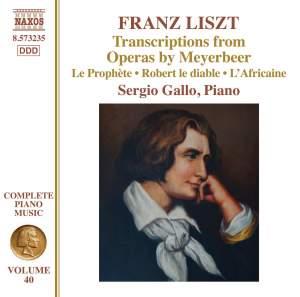 Liszt: Complete Piano Music Volume 40