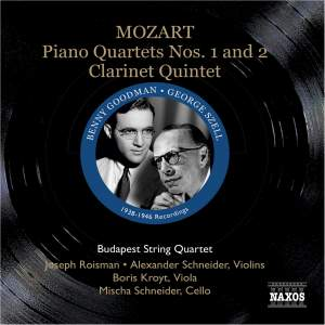 Mozart - Great Chamber Music Recordings Product Image