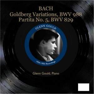 Bach - Goldberg Variations Product Image