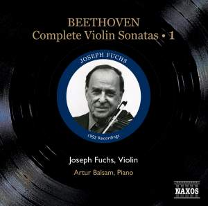 Beethoven - Complete Violin Sonatas Volume 1 Product Image