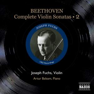 Beethoven - Complete Violin Sonatas Volume 2 Product Image