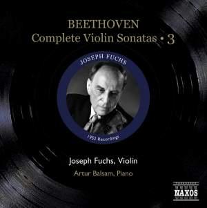 Beethoven - Complete Violin Sonatas Volume 3 Product Image