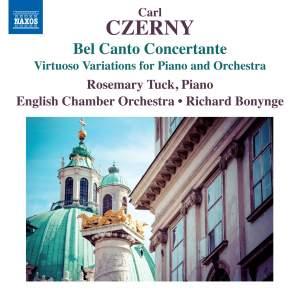 Czerny: Bel Canto Concertante