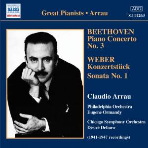 Great Pianists - Claudio Arrau Product Image