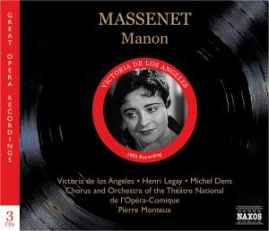 Massenet: Manon Product Image