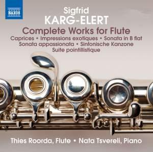 Karg-Elert: Complete Works for Flute
