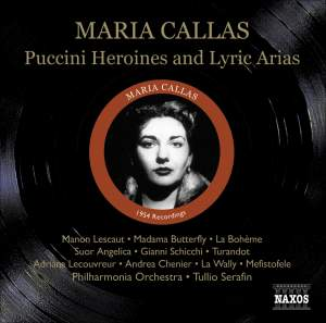 Maria Callas - Puccini Heroines and Lyric Arias