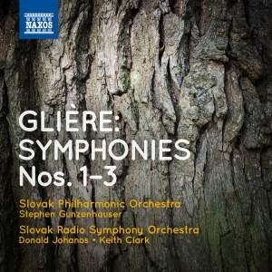 Glière: Symphonies Nos. 1-3