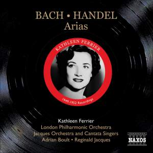 Kathleen Ferrier sings Bach and Handel Arias Product Image
