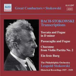 Bach/Stokowski - Transcriptions Volume 1 Product Image