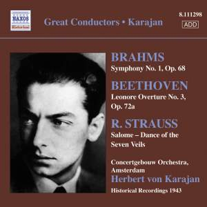 Herbert von Karajan conducts Brahms, Beethoven & Strauss Product Image