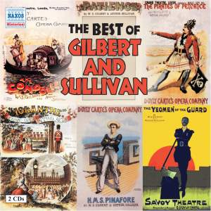The Best of Gilbert & Sullivan Product Image