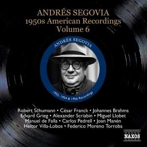 Segovia - 1950s American Recordings Volume 6 Product Image