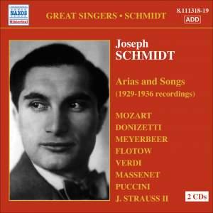 Great Singers - Joseph Schmidt Product Image