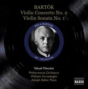 Yehudi Menuhin plays Bartók Product Image