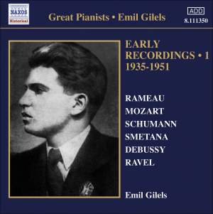 Emil Gilels: Early Recordings Volume 1 Product Image