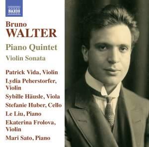 Bruno Walter: Piano Quintet in F sharp minor