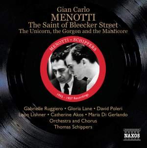 Menotti: The Saint of Bleecker Street Product Image