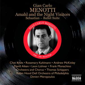 Menotti: Amahl and the Night Visitors Product Image