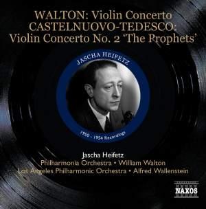 Jascha Heifetz plays Walton, Saint-Saëns, Sinding & Castelnuovo-Tedesco
