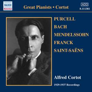 Alfred Cortot: 1929-1937 Recordings Product Image