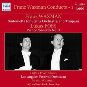 Franz Waxman Conducts, Vol. 1