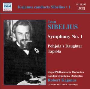 Kajanus Conducts Sibelius, Vol. 1 Product Image