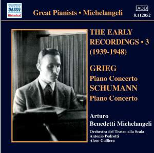 Michelangeli - The Early Recordings Volume 3
