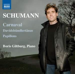 Schumann: Davidsbündlertänze, Papillons & Carnaval