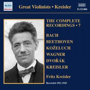 Kreisler: The Complete Recordings Volume 7